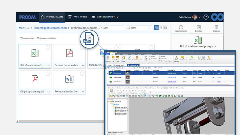 Sicherer Dateiaustausch für CAD-Daten und technische Dateien