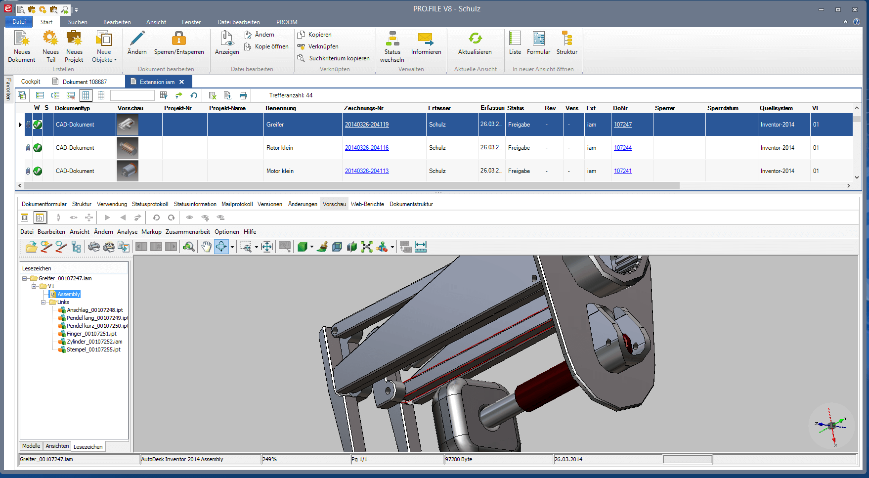 PDM/PLM-Softwareanbieter PROCAD unterstützt Autodesk CAD Serie 2018