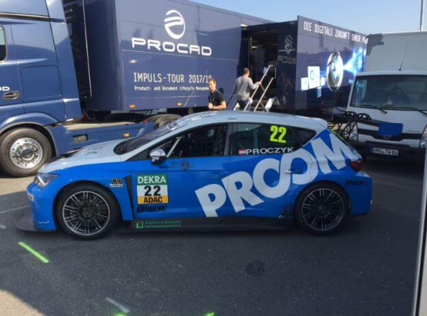 Letztes Rennen der ADAC TCR Germany 2017 am Hockenheimring: PROOM-Pilot Hari Proczyk mit gutem Saisonabschluss