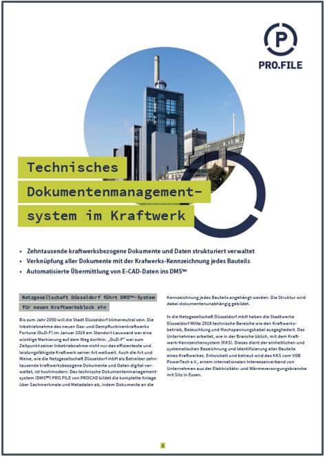 Anwenderbericht Netzgesellschaft Düsseldorf