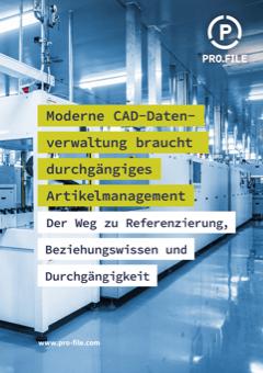 Was moderne CAD Datenverwaltung braucht