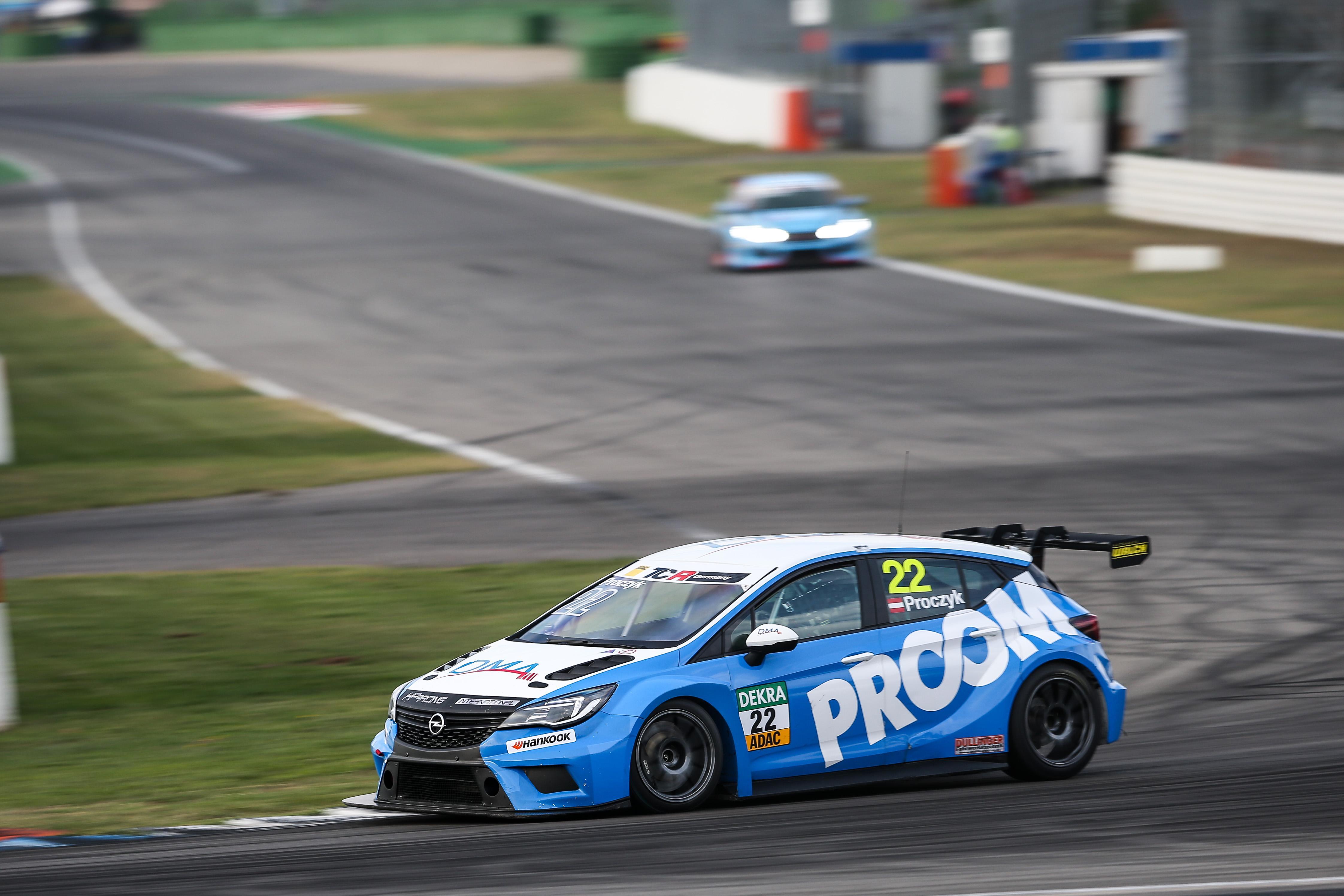 PROOM driver Hari Proczyk brings home the ADAC TCR Germany championship