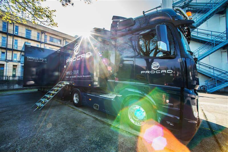 PROCAD Truck Tour on PLM digitalization a resounding success