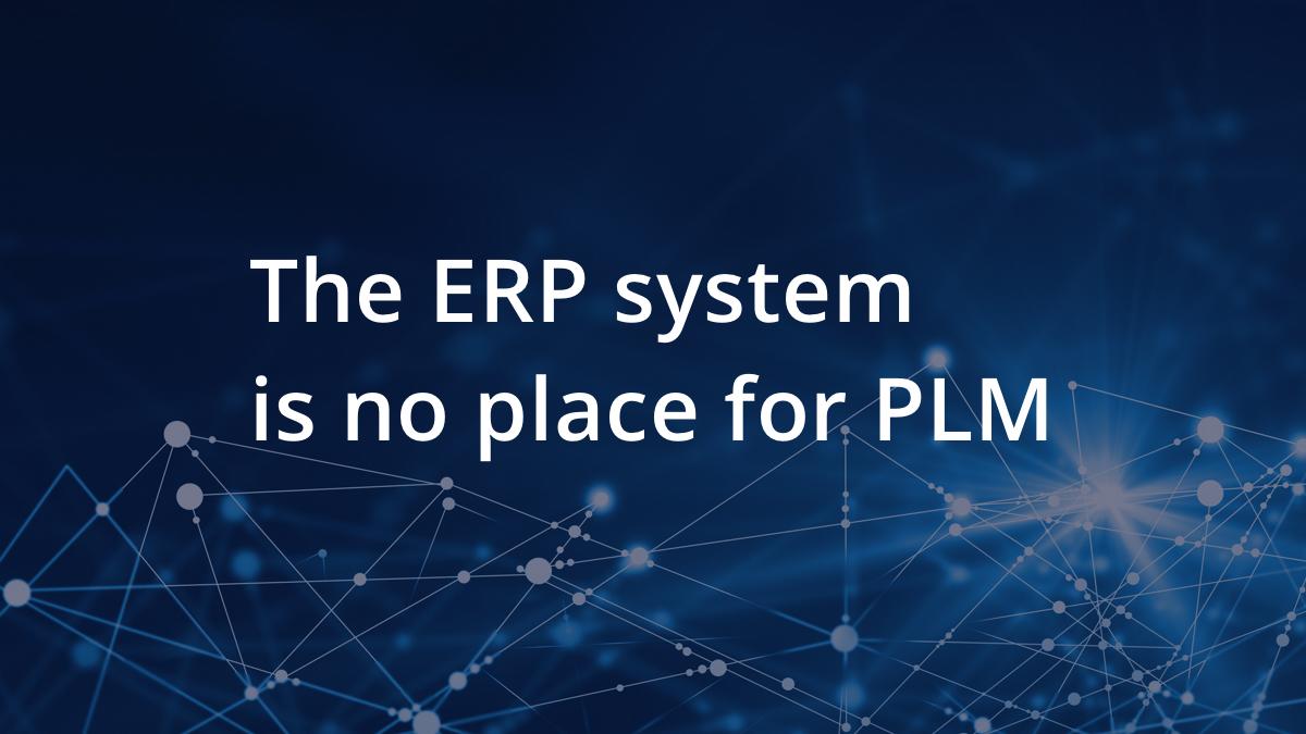 A new PLM approach with SAP S/4HANA