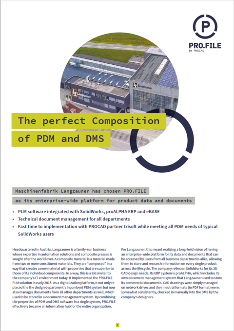 Maschinenfabrik Langzauner GmbH success story