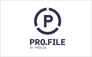 PRO.FILE by PROCAD Logo