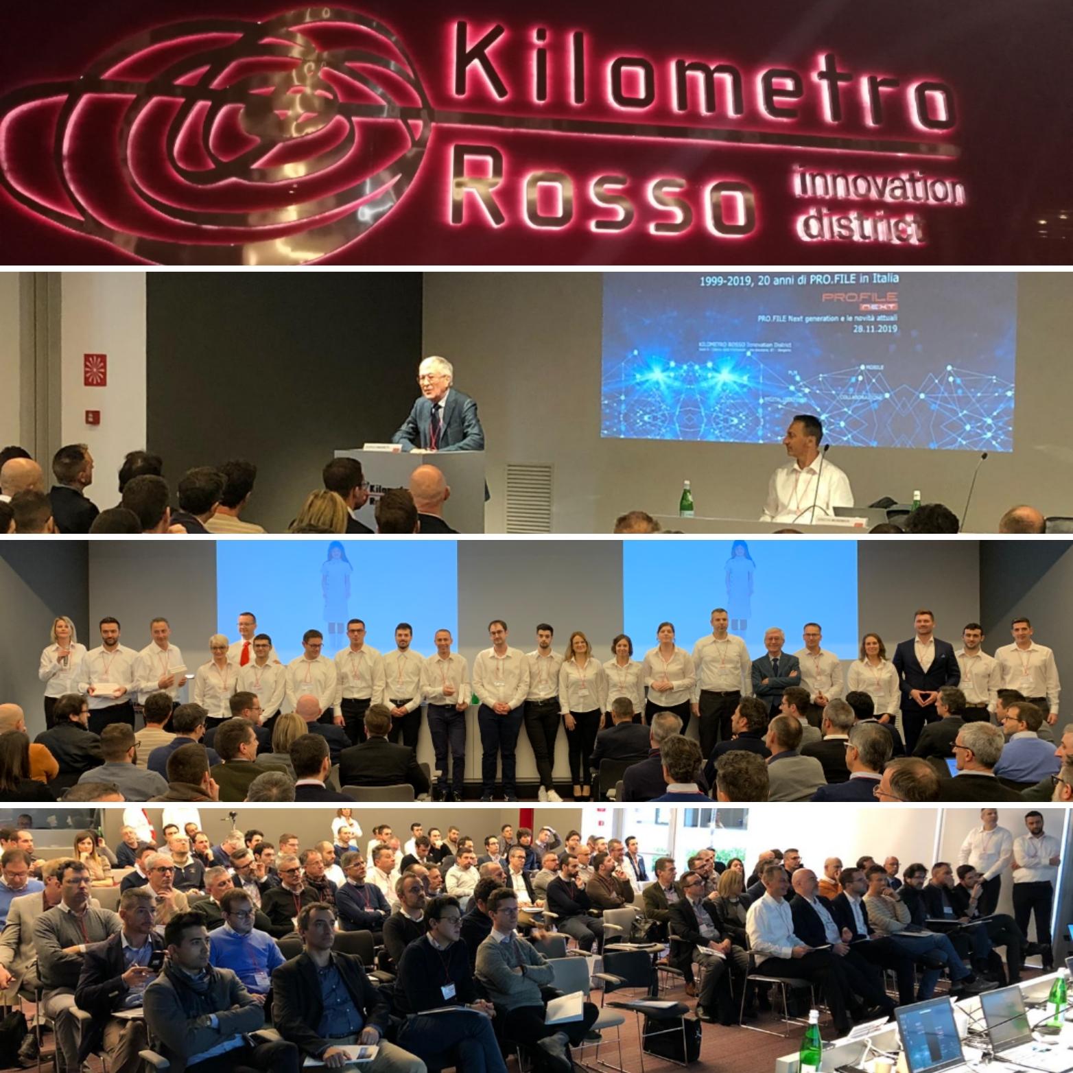 Evento 20 anni PRO.FILE Italia