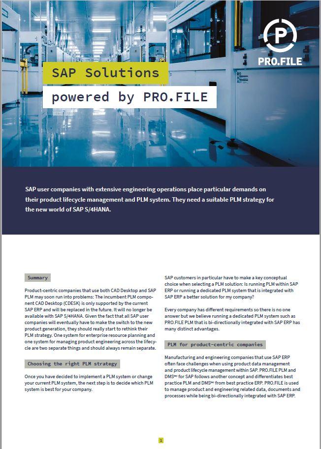 Integrazione SAP brochure